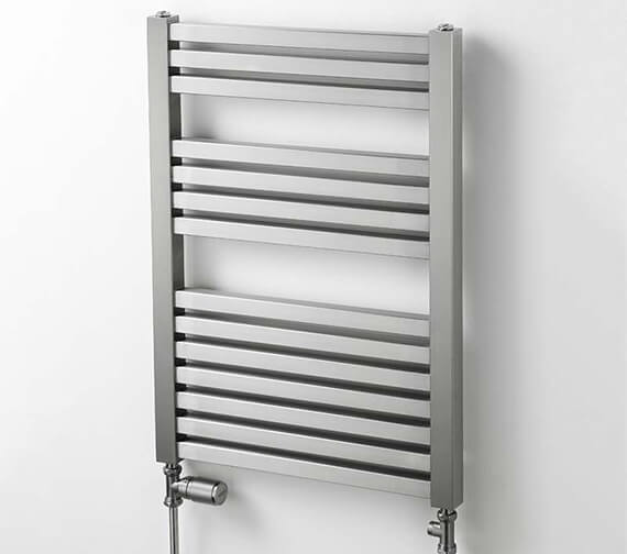 Aeon Serif 550mm Wide Wall Mounted Stainless Steel Towel Rail