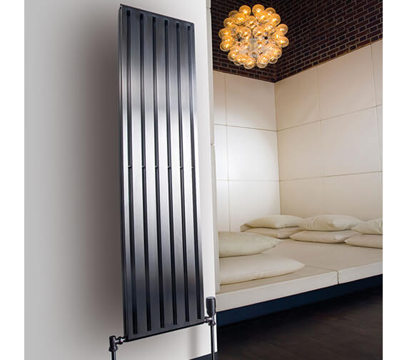 Aeon Supra Double Wall Mounted Central Heating Stainless Steel Radiator