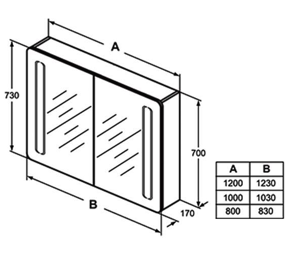 Technical drawing QS-V101055 / T3388AL