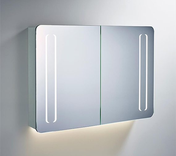 Ideal Standard Mirror Cabinet With Bottom Ambient And Front Light