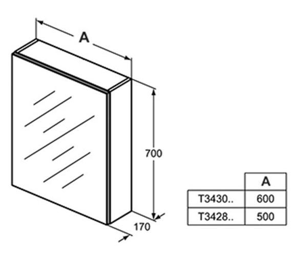 Technical drawing QS-V101056 / T3428AL