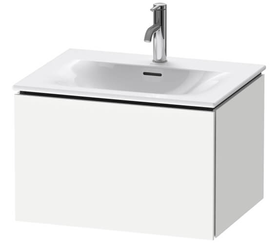 Duravit L-Cube Wall Mounted 1 Drawer Vanity Unit For Viu Basin