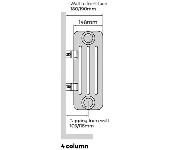Technical drawing QS-V9293 / FWH-4-0600-13