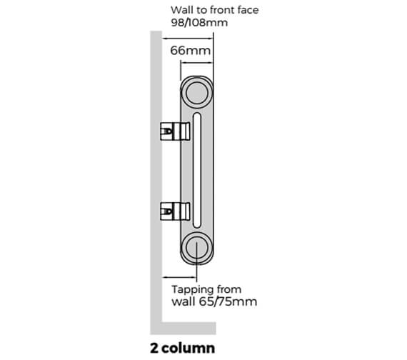 Technical drawing QS-V9298 / FWH-2-1800-06