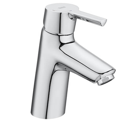 Roca Malva Smooth Body Cold Start Basin Mixer Tap
