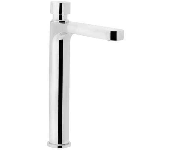 Bristan Commercial Tall Body Basin Pillar Soft Touch Timed Flow Tap