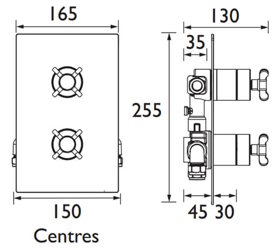 Technical drawing QS-V102502 / TY2 SHCVO C