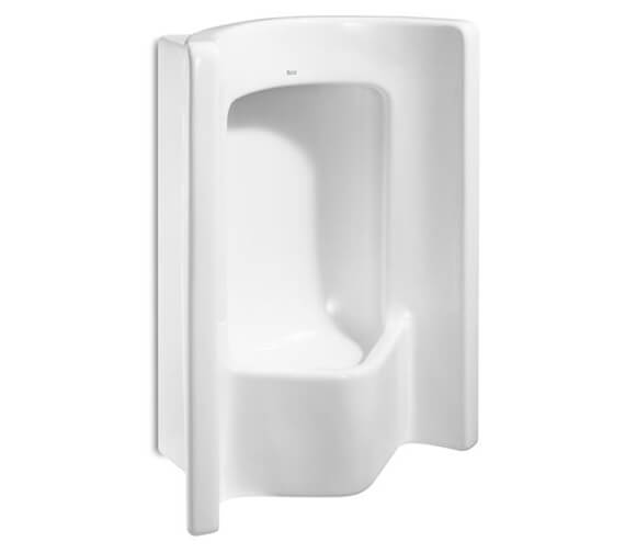 Roca Site Vitreous China Frontal Urinal With Rear Inlet
