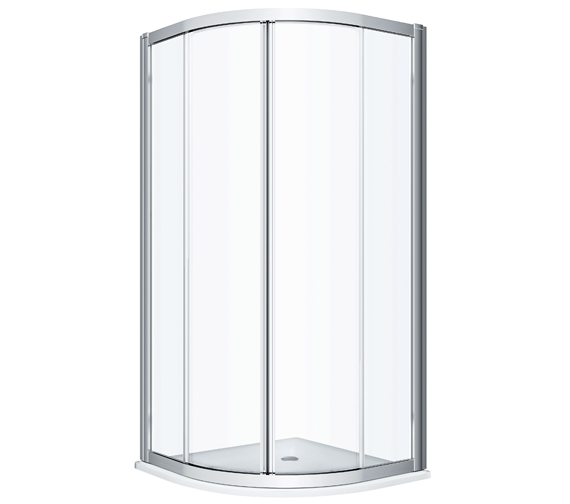 Twyford Geo Quadrant Shower Enclosure With 6mm Glass