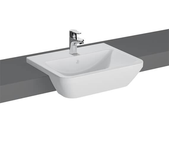 VitrA Integra 550 x 450mm Semi Recessed Basin