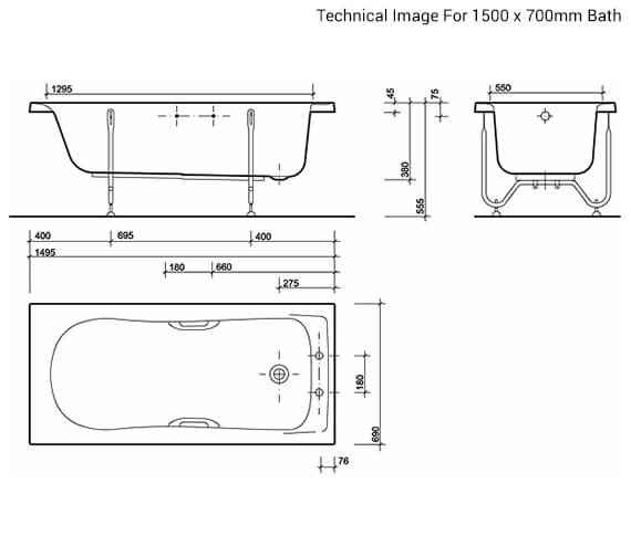 Technical drawing QS-V89540 / GN8422WH