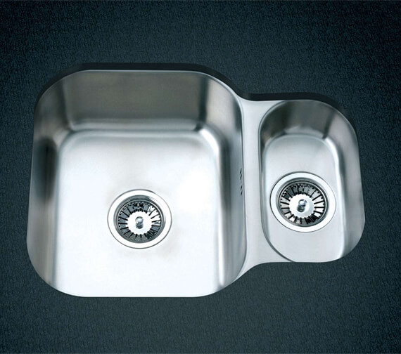 Clearwater Tango 594 x 460mm 1.5 Bowl Kitchen Sink