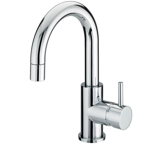 Bristan Prism Side Action Basin Mixer Tap With Pop-Up Waste