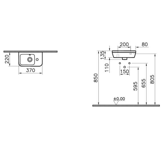 Technical drawing QS-V101294 / 7090L003-0012