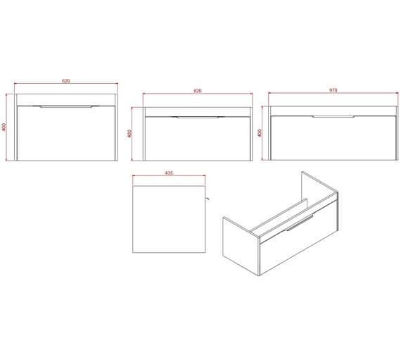 Technical drawing QS-V102310 / S65SDW