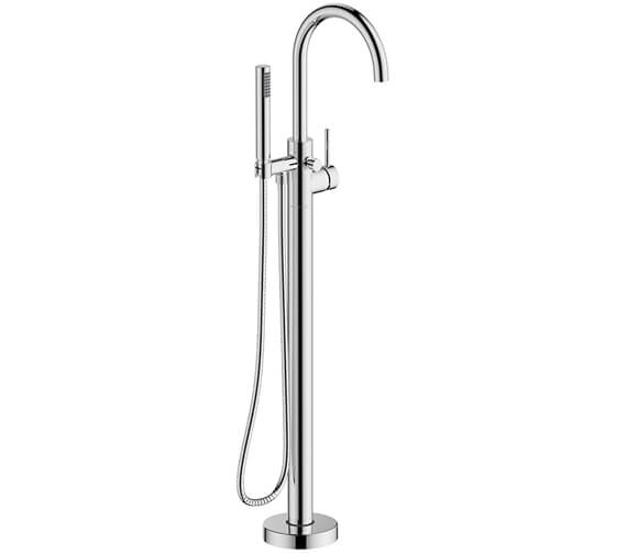 Britton Hoxton Floor Standing Mono Bath Shower Mixer Tap