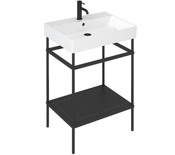 Britton Shoreditch Frame Furniture Stand With Basin