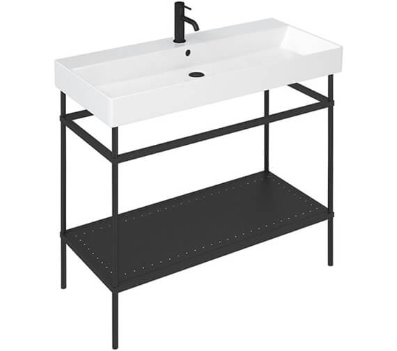 Alternate image of Britton Shoreditch Frame Furniture Stand With Basin