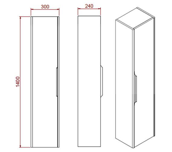 Technical drawing QS-V102312 / STALLW