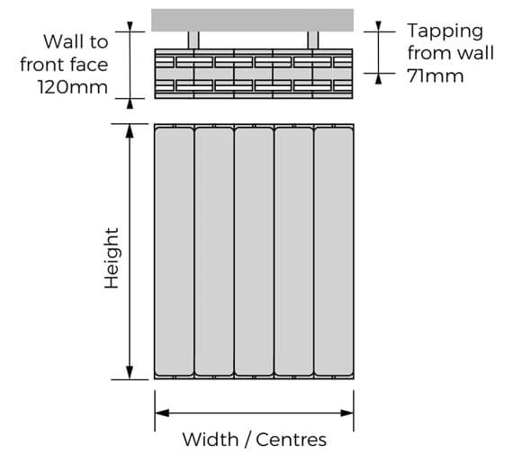 Technical drawing QS-V100311 / HOHWH-557-05