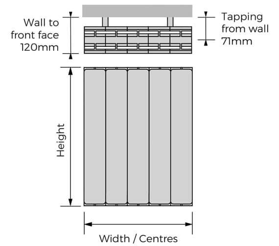 Technical drawing QS-V100312 / HOHWH-657-05