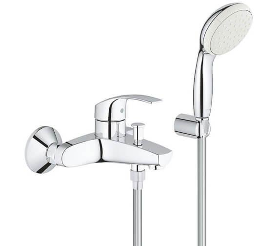 Grohe Eurosmart Half Inch Single Lever Bath Shower Mixer Set