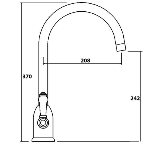 Technical drawing QS-V102423 / DE2CP