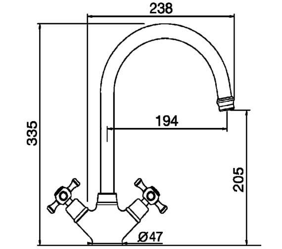 Technical drawing QS-V102424 / COTC