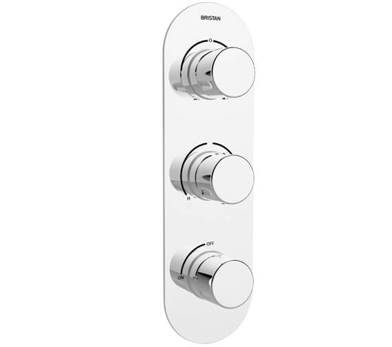 Bristan Exodus Recessed Thermostatic Shower Valve With Stopcock