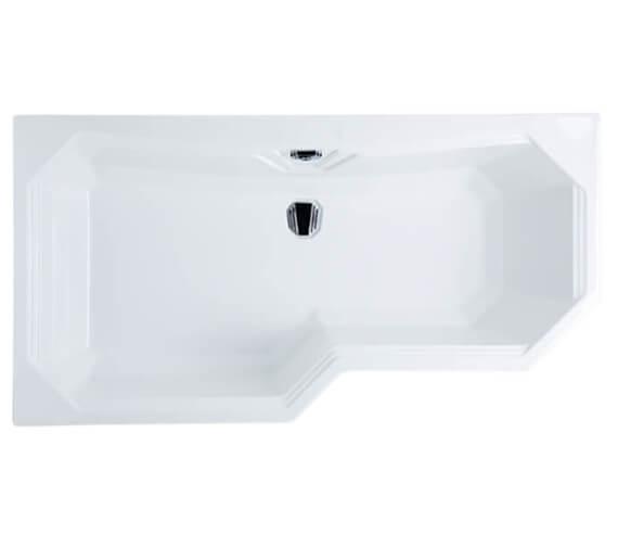 Carron Highgate 1700 x 750-900 Left Hand Carronite Shower Bath