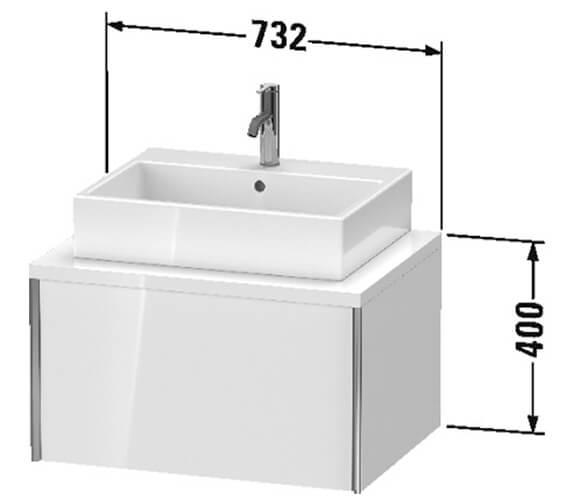 Technical drawing QS-V96351 / XV59000B118