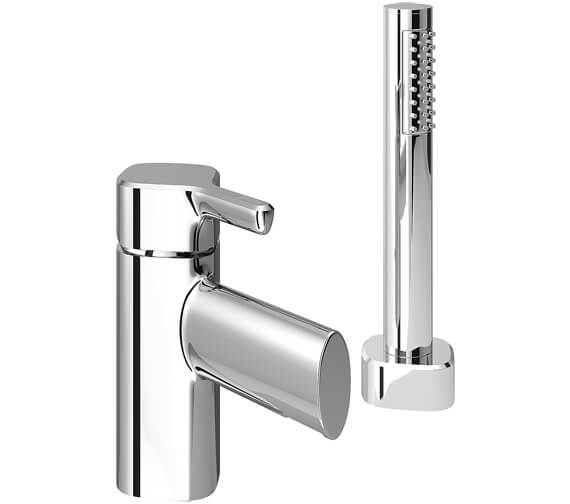 Bristan Flute 2 Hole Deck Mounted Bath Shower Mixer Tap