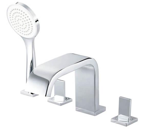 Roca Flat Deck Mounted Bath Shower Mixer Tap