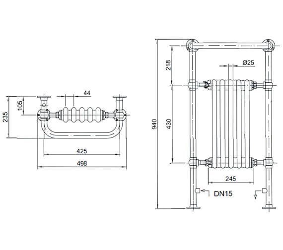 Technical drawing QS-V24371 / AHC80