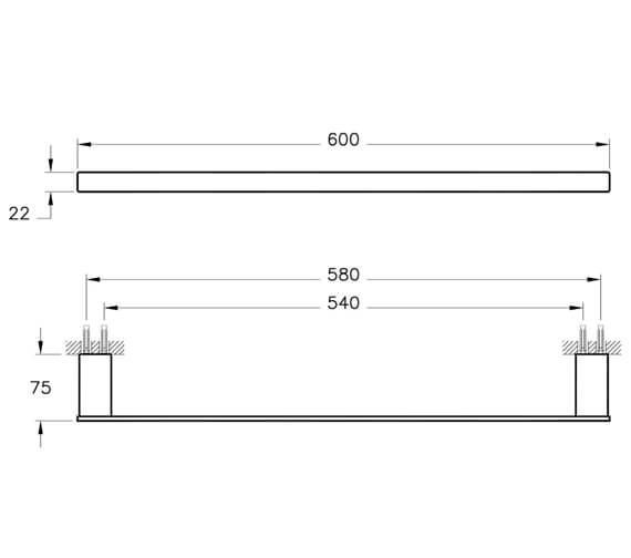 Technical drawing QS-V101302 / A44168