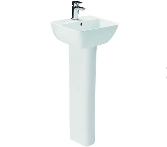 Britton My Home 1 Taphole Wall Hung Basin