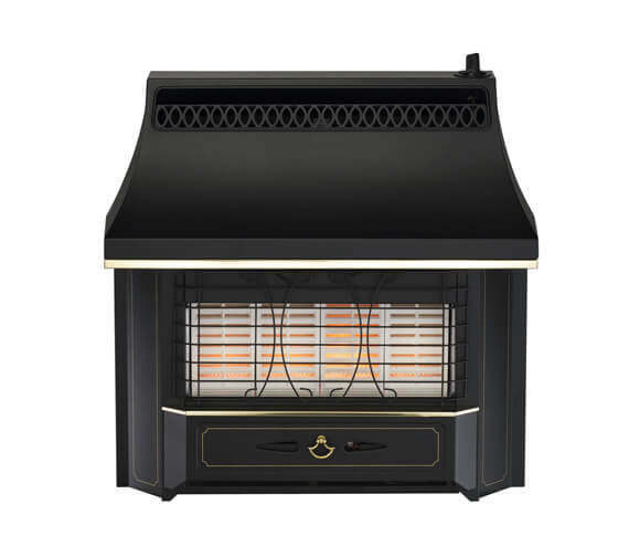 Valor Black Beauty Radiant Gas Fire