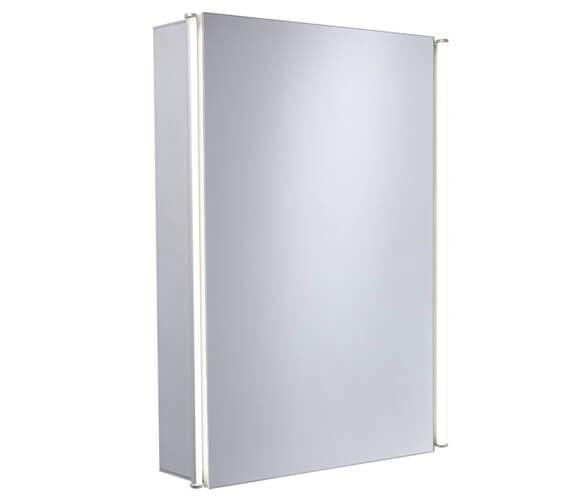Essential Sleek Single Door Mirror Cabinet 440 x 650mm