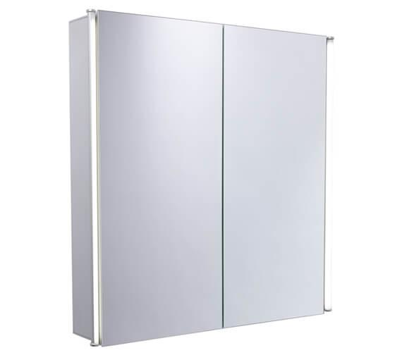 Essential Sleek 600 x 650mm Double Door Mirror Cabinet