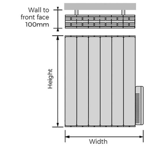 Technical drawing QS-V100314 / HOHE-578-04