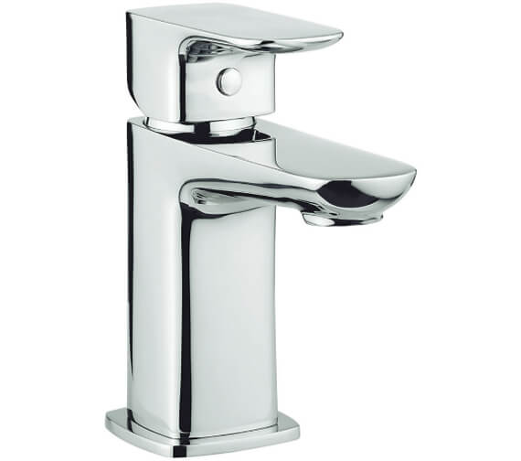Britton My Home Deck Mounted Basin Mixer Tap Wit Click-Clack Waste