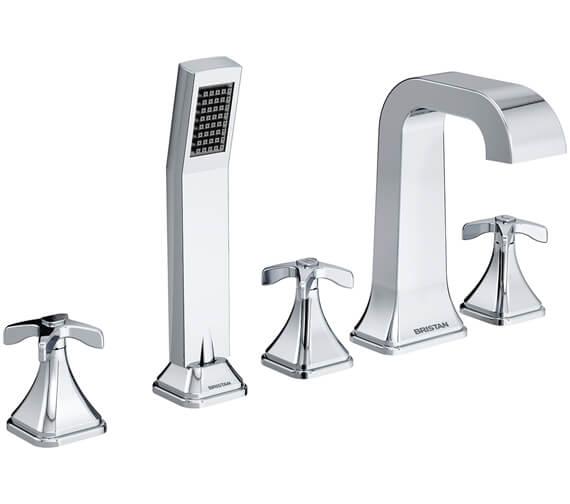 Bristan Glorious 5 Hole Deck Mounted Bath Shower Mixer Tap