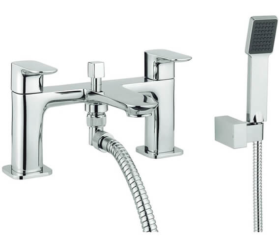 Britton My Home Deck Mounted Bath Mixer Tap With Kit
