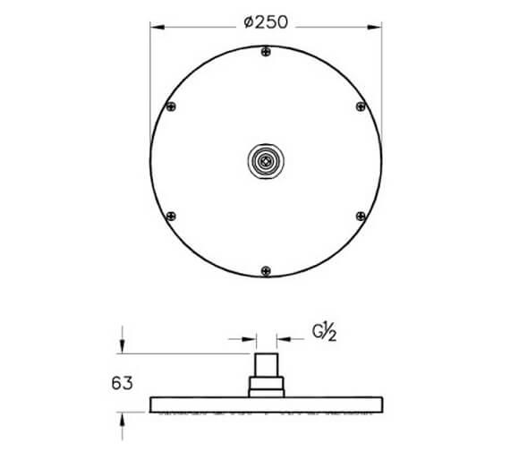 Technical drawing QS-V98121 / A45638