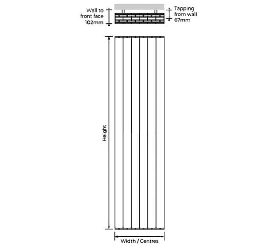 Technical drawing QS-V100313 / HOVWH-1866-03