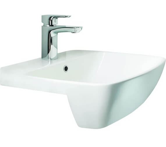Britton My Home Semi Recessed Basin - 1 Taphole - 500mm Wide