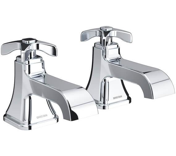 Bristan Glorious Pair Of Bath Taps