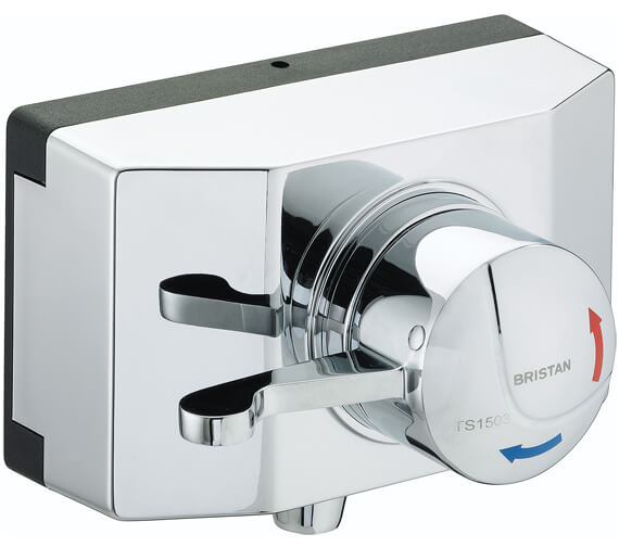 Bristan Gummers Opac Thermostatic Exposed Shower Valve - OP TS1503 SCL C