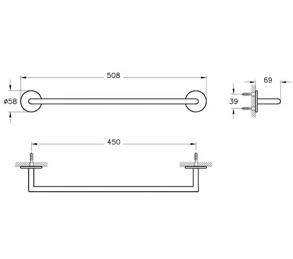Technical drawing QS-V98123 / A44886