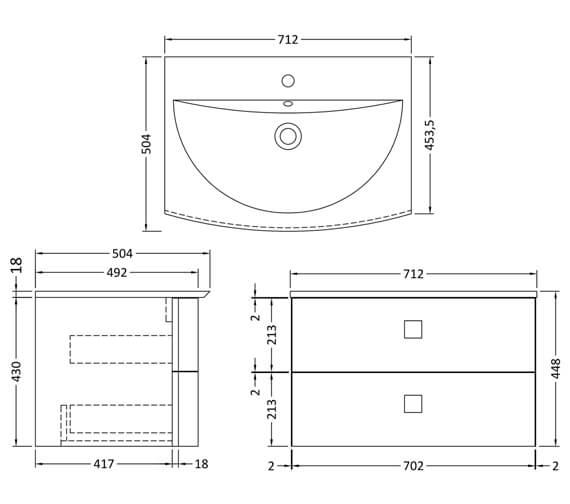 Technical drawing QS-V93894 / SAR101